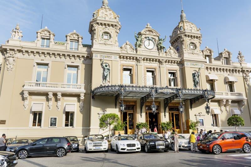 Grande casinò della Monaco immagini stock libere da diritti