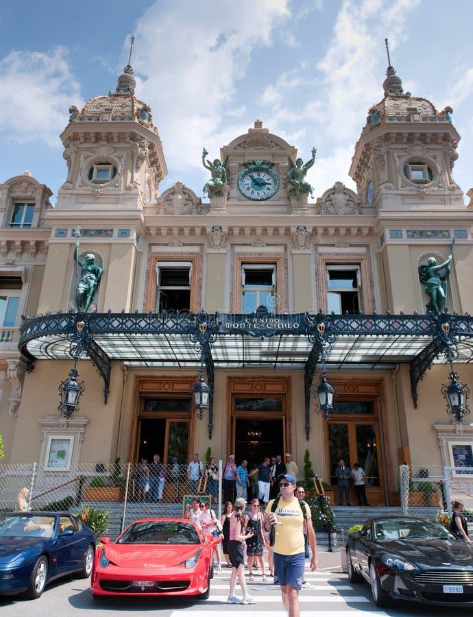 Grande casinò a Monte Carlo immagine stock libera da diritti