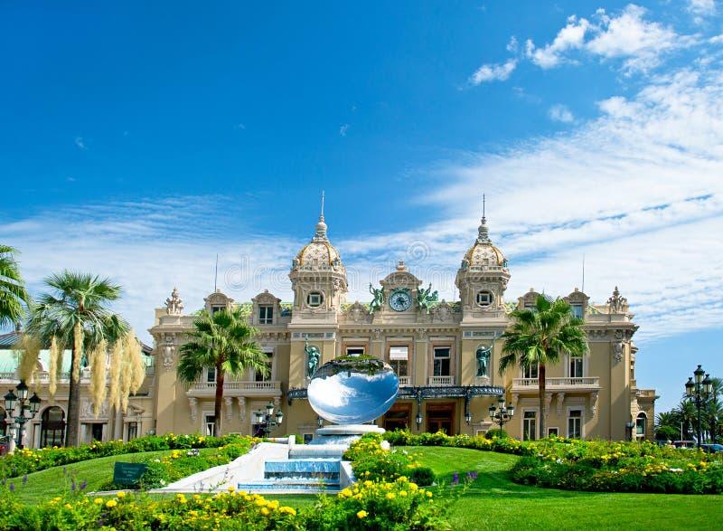 Grande casinò a Monte Carlo fotografie stock