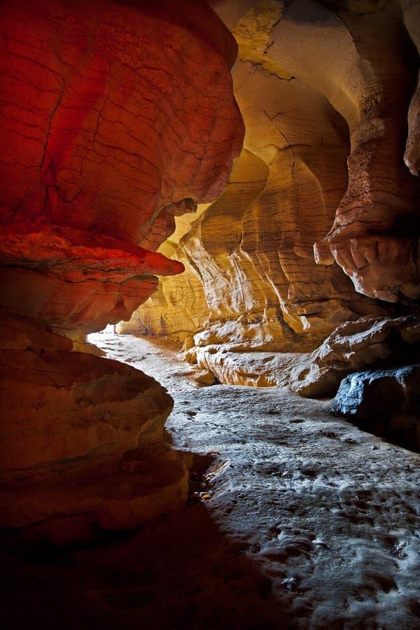 Grande caverna do salitre em Kentucky fotografia de stock royalty free