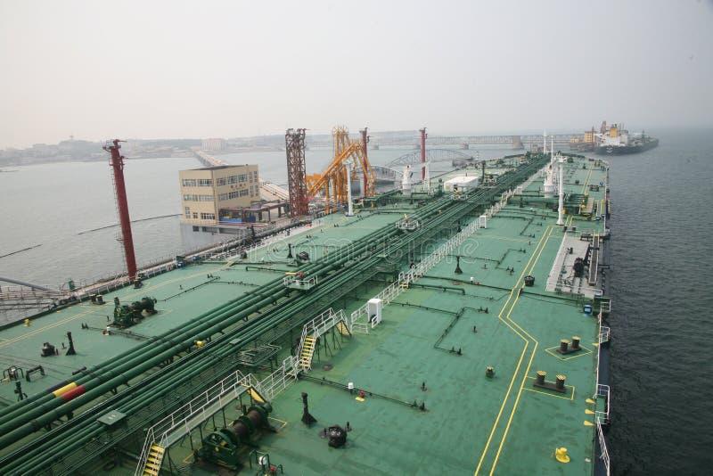 Grande central de petróleo bruto foto de stock royalty free