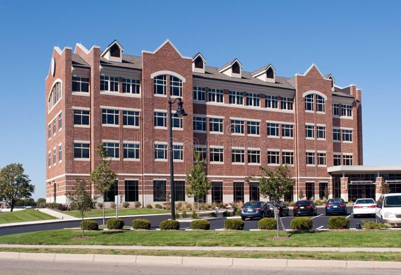 Grande centro de pesquisa do tijolo foto de stock royalty free