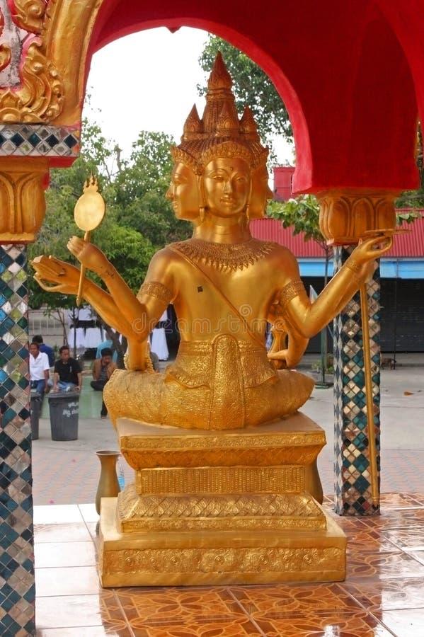 Grande centro di Buddha Plai Laem, Samui, Tailandia fotografia stock