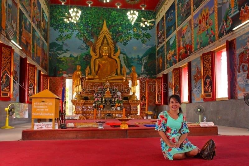 Grande centro di Buddha Plai Laem, Samui, Tailandia immagini stock libere da diritti