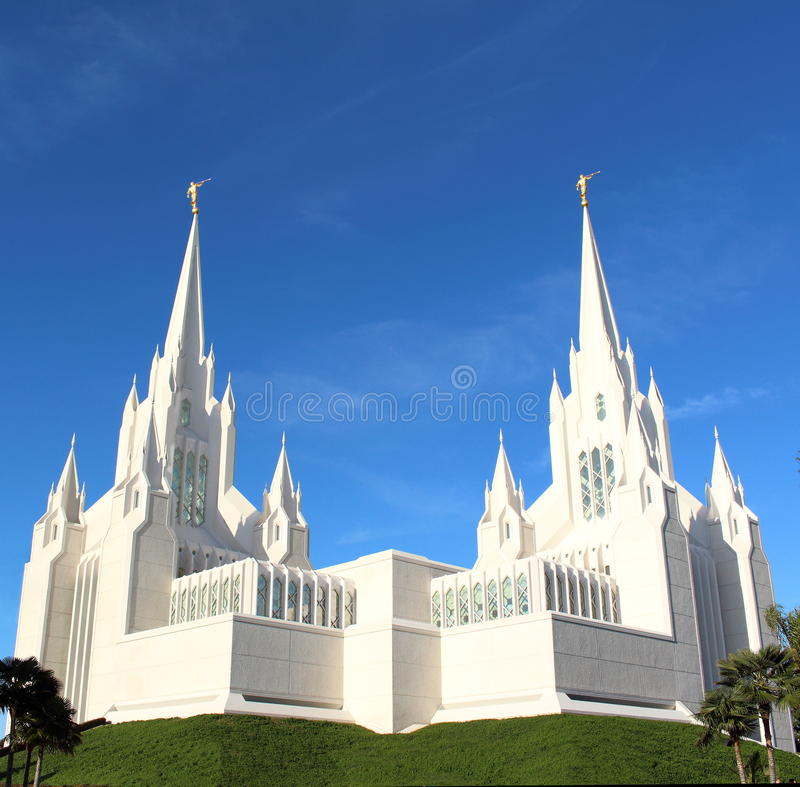 Grande chiesa fotografie stock libere da diritti