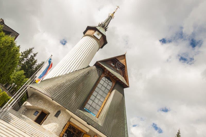 Santuario di Krzeptowki - Polonia. immagini stock