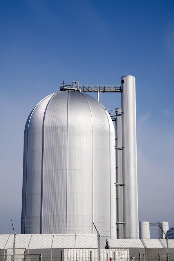 Grande cilindro della centrale elettrica fotografie stock libere da diritti