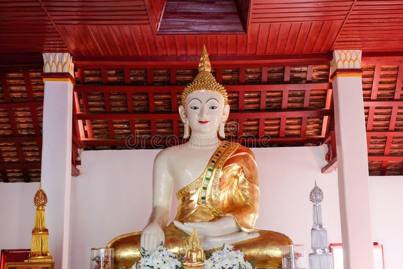 Grande città bianca Tailandia di Buddha Nan fotografia stock libera da diritti