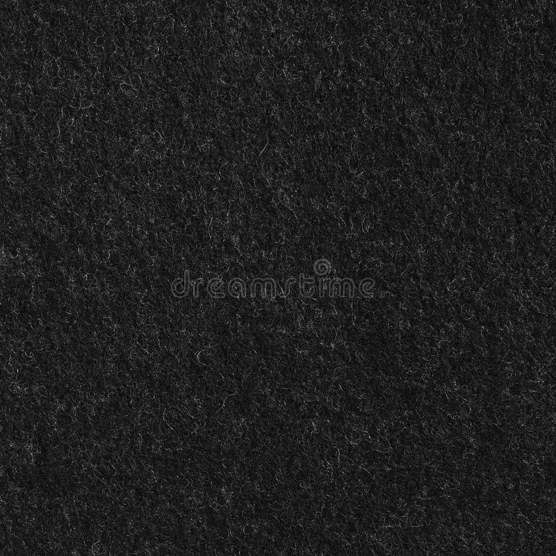 Grande close up macro Textured vertical detalhado Smart do teste padrão preto da textura do fundo da tela da flanela de lãs de Co imagem de stock royalty free