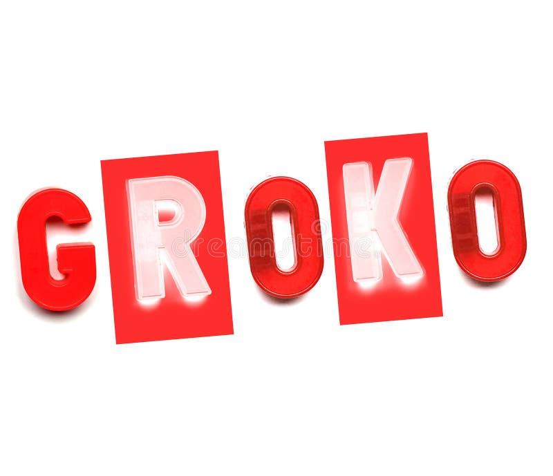 Grande coalizione di Groko fotografia stock