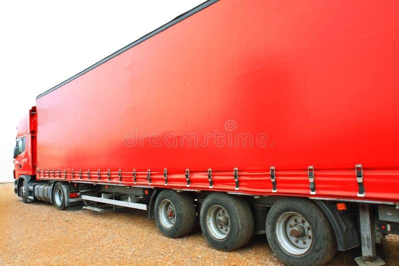 Grande colore rosso fotografie stock