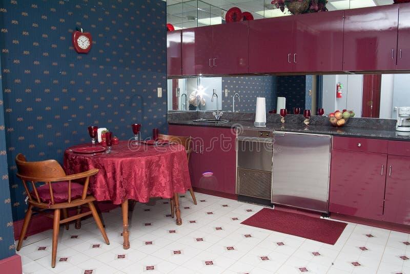 Grande cucina fotografia stock