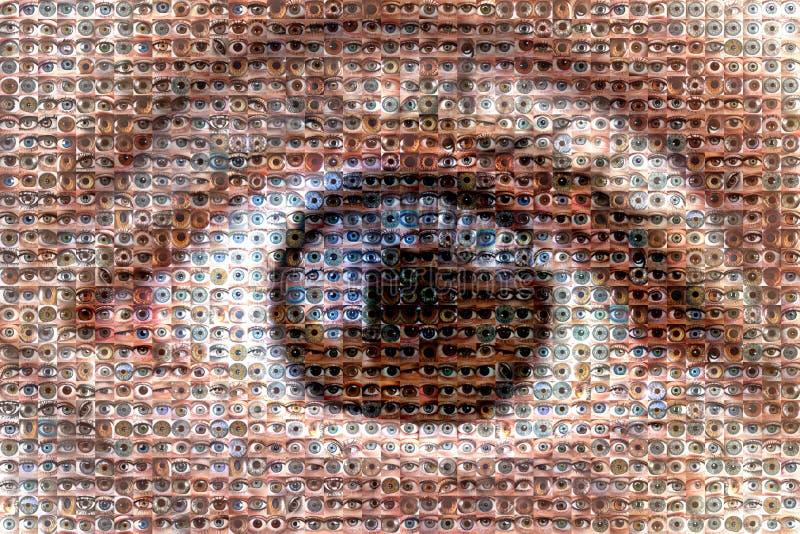 """grande  del brother†del """"the gli occhi del mosaico immagine stock"""