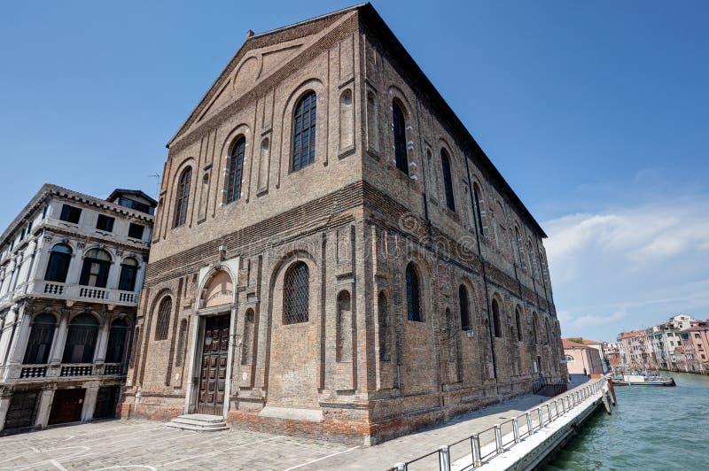 Grande della Misericordia, Venecia, Venezia, Italia, Italia de Scuola imágenes de archivo libres de regalías