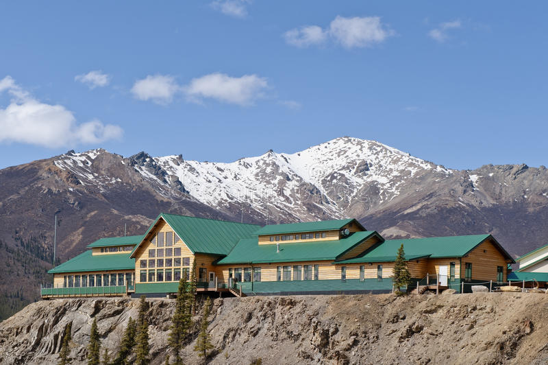 Download Grande Denali Lodge stock photo. Image of peaks, outdoor - 11181044