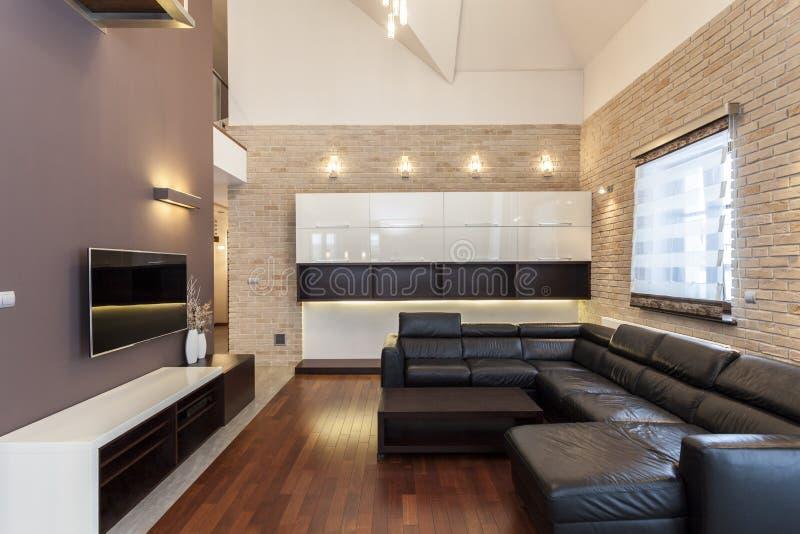 Grande disegno stanza minimalista immagine stock for Disegno stanza
