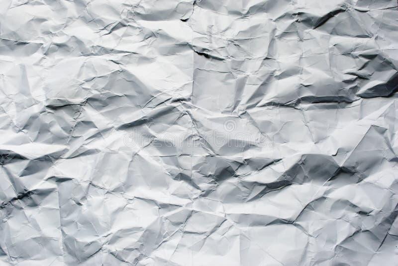 Grande documento sgualcito immagini stock