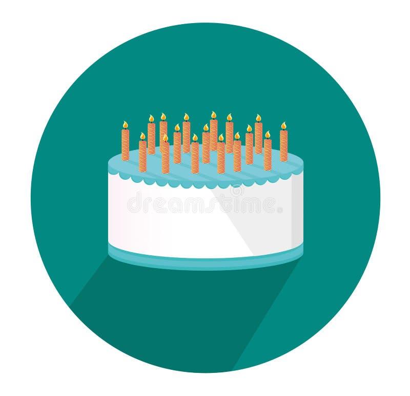 Grande dolce festivo Buon compleanno Cartolina d'auguri o invito per una festa Vettore illustrazione vettoriale