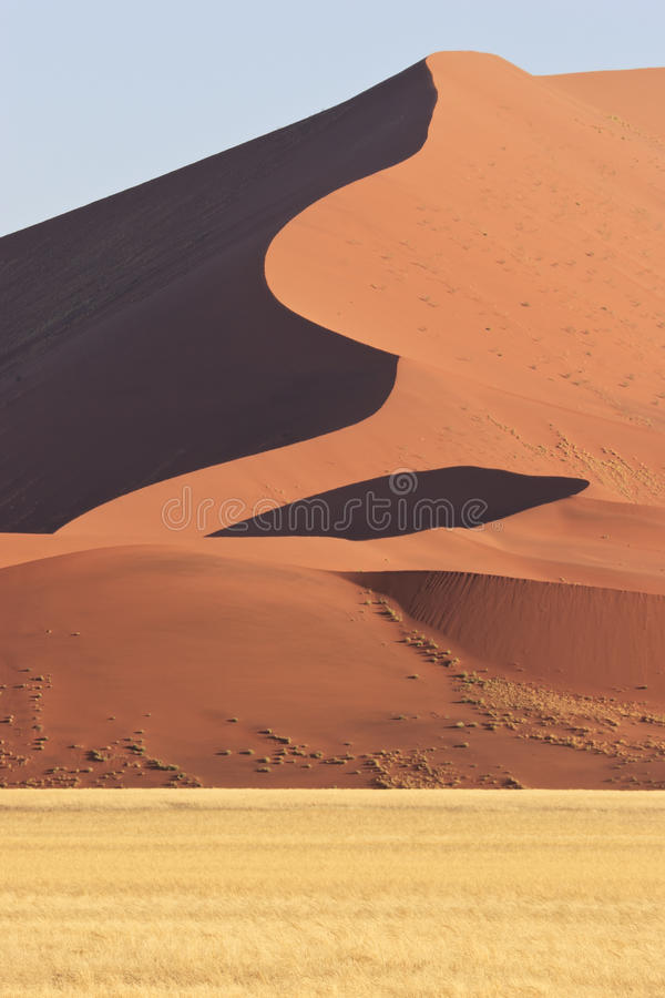 Grande duna immagini stock