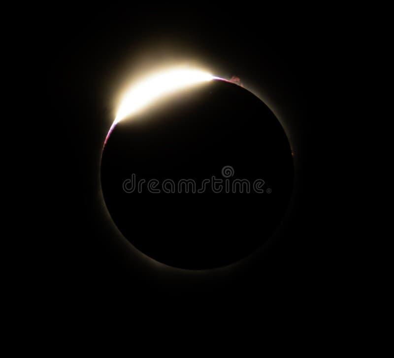Grande eclipse americano 2017 imagens de stock royalty free