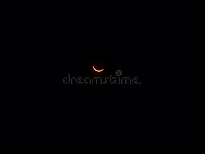 Grande eclissi americana fotografia stock