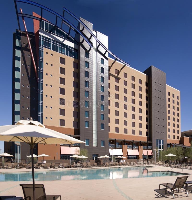 Grande edifício novo do hotel do casino em Phoenix fotografia de stock