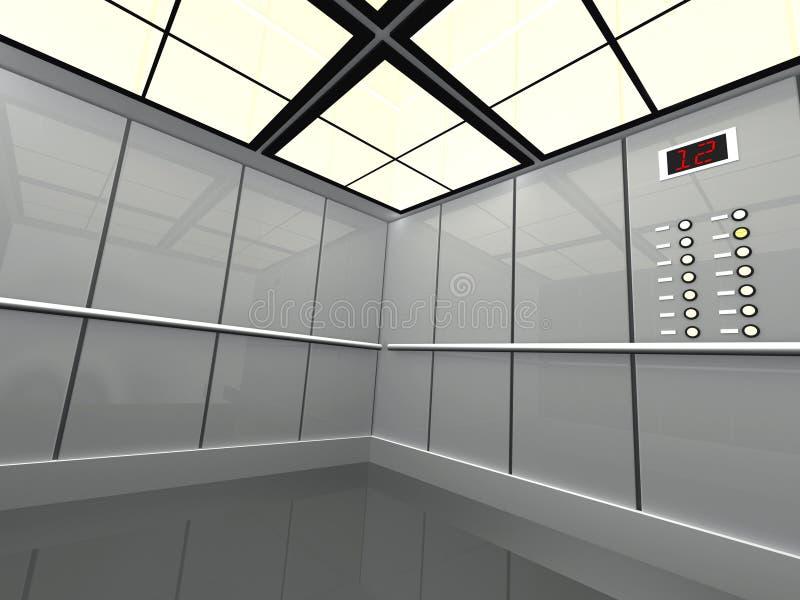 Grande elevador ilustração stock
