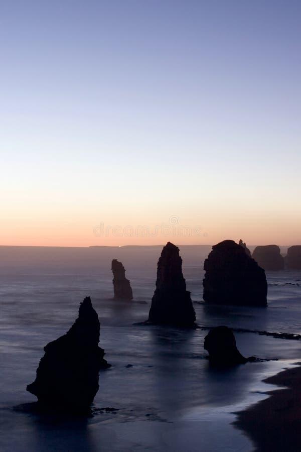 Grande estrada do oceano fotografia de stock