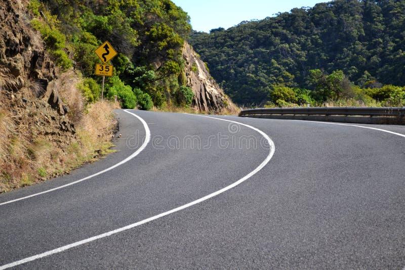 Grande estrada do oceano fotografia de stock royalty free
