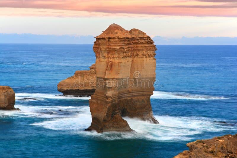 A grande estrada do oceano, Melbourne, Austrália foto de stock royalty free