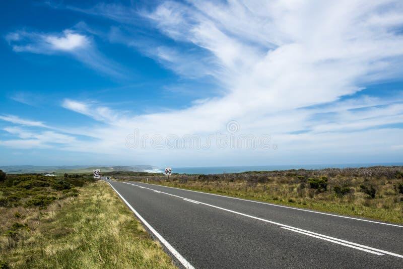 Grande estrada do oceano perto do apóstolo doze imagens de stock royalty free