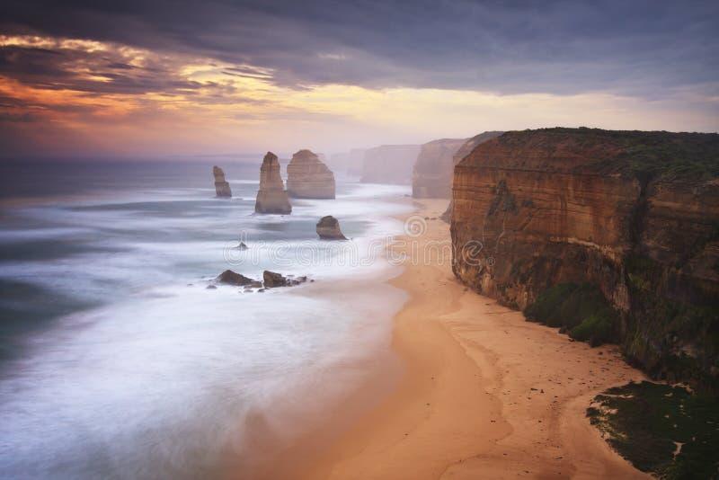 A grande estrada do oceano, Victoria, Austrália fotos de stock royalty free