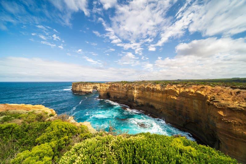 Grande estrada do oceano, Victoria State, Austrália imagens de stock