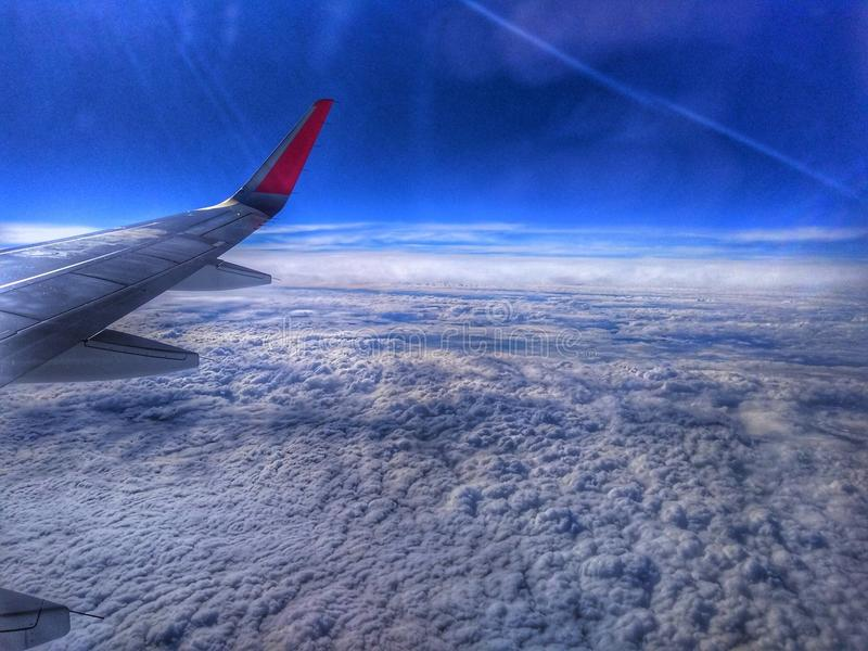 Grande evento nel cielo fotografia stock