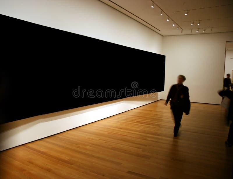 Grande exposition de panneau blanc image libre de droits