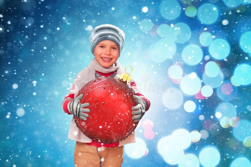 Grande felicità di Natale fotografia stock libera da diritti