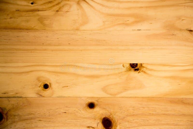 Grande fondo di legno di struttura della parete della plancia di Brown fotografie stock