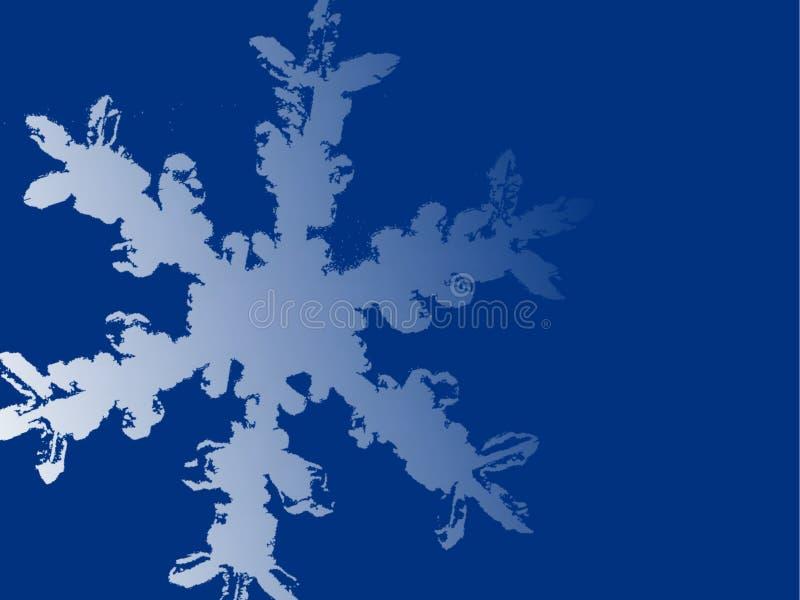 Grande fundo do floco de neve ilustração do vetor