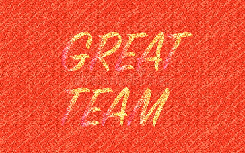 Grande fundo vermelho textured da equipe sumário ilustração do vetor