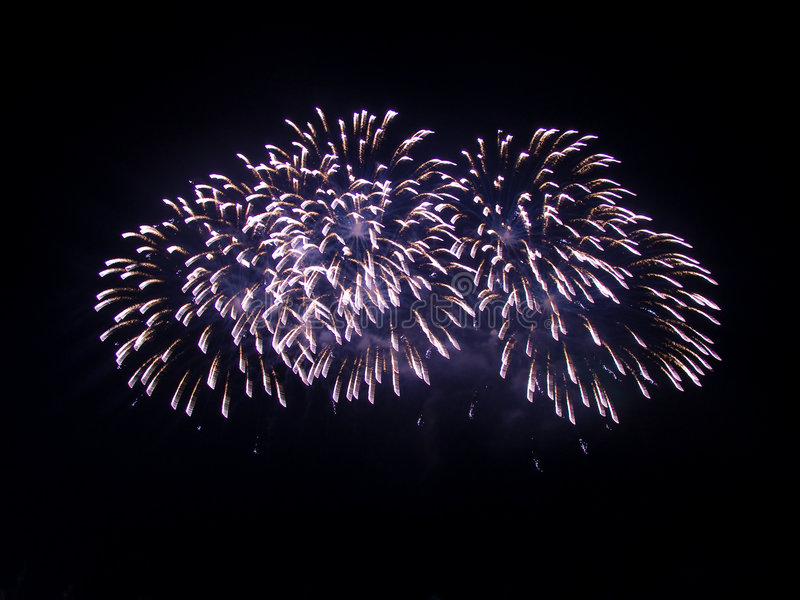 Download Grande Fuoco D'artificio Festivo Fotografia Stock - Immagine di burst, divertimento: 7311888