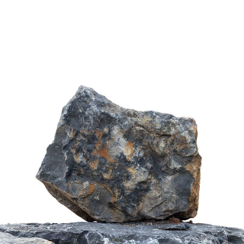 Grande granito do isolado forte imagens de stock