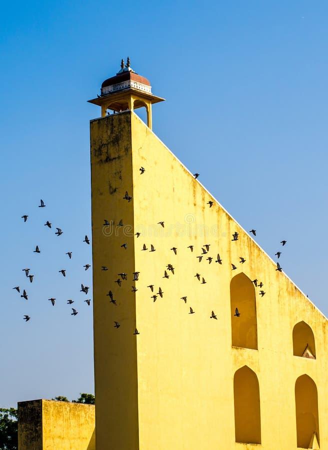 Grande horloge chez Jantar mantar image stock