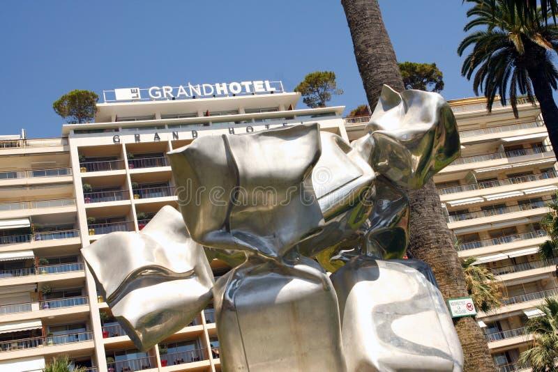 Grande hotel Cannes fotografia stock libera da diritti