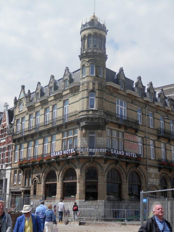Grande hotel di Maastricht immagine stock