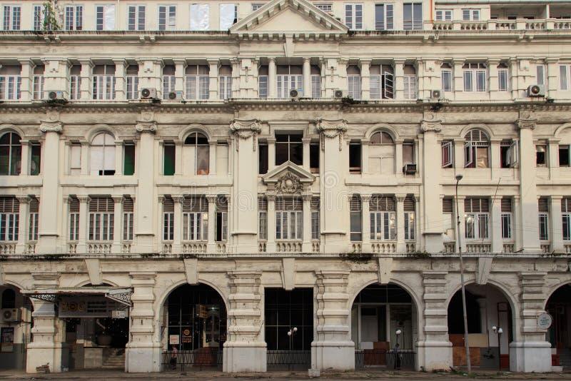 Grande hotel orientale, costruzione coloniale di lusso alla via di York a Colombo, Sri Lanka immagini stock libere da diritti