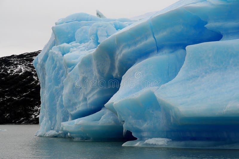 Grande iceberg nel parco nazionale di Los Glaciares, Argentina immagine stock libera da diritti