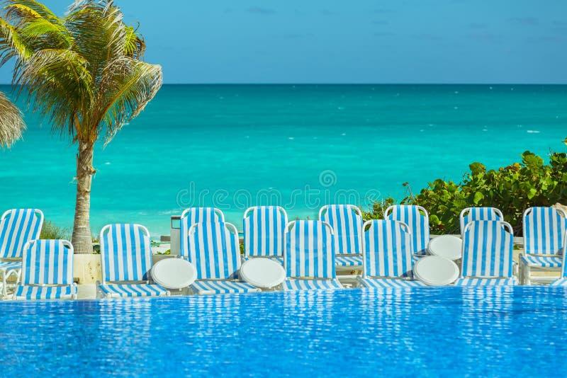 Grande ideia bonita da paisagem carribean tropical natural fotos de stock royalty free