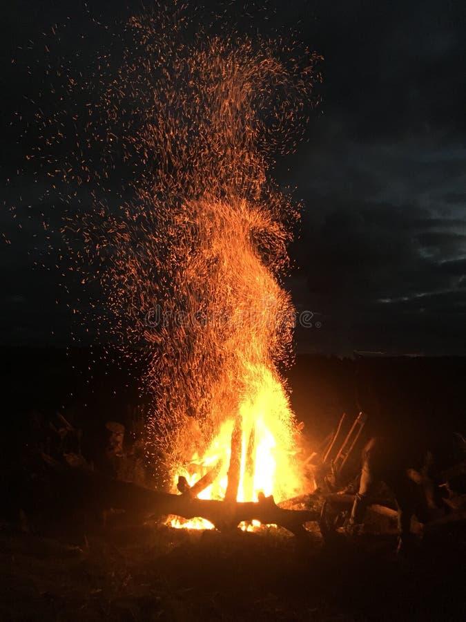 Grande incêndio fotos de stock royalty free