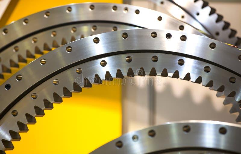 Grande ingranaggio d'acciaio immagini stock libere da diritti