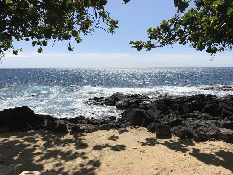Grande isola dell'Hawai fotografie stock